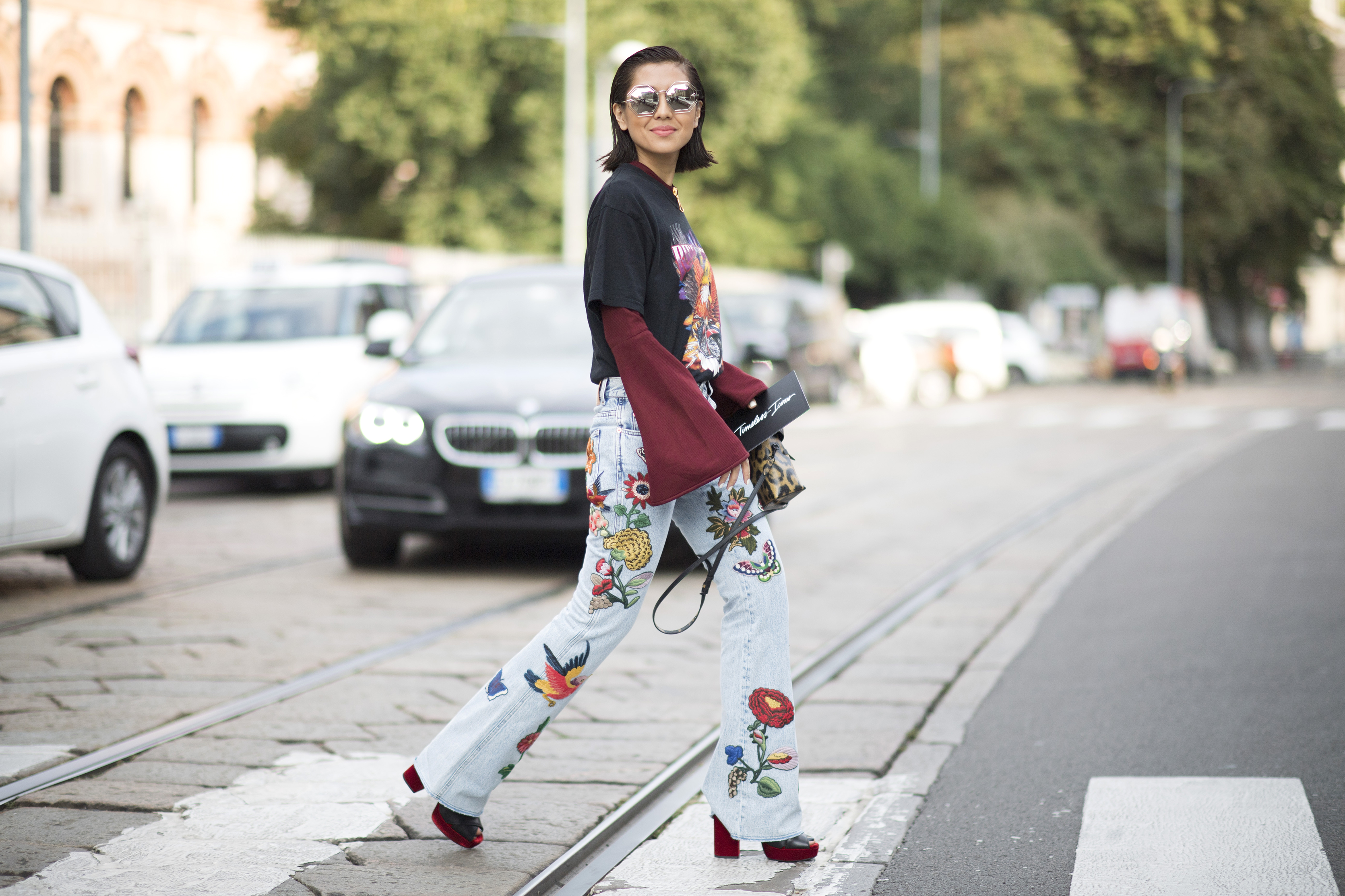thelist shop the best street style from milan fashion week