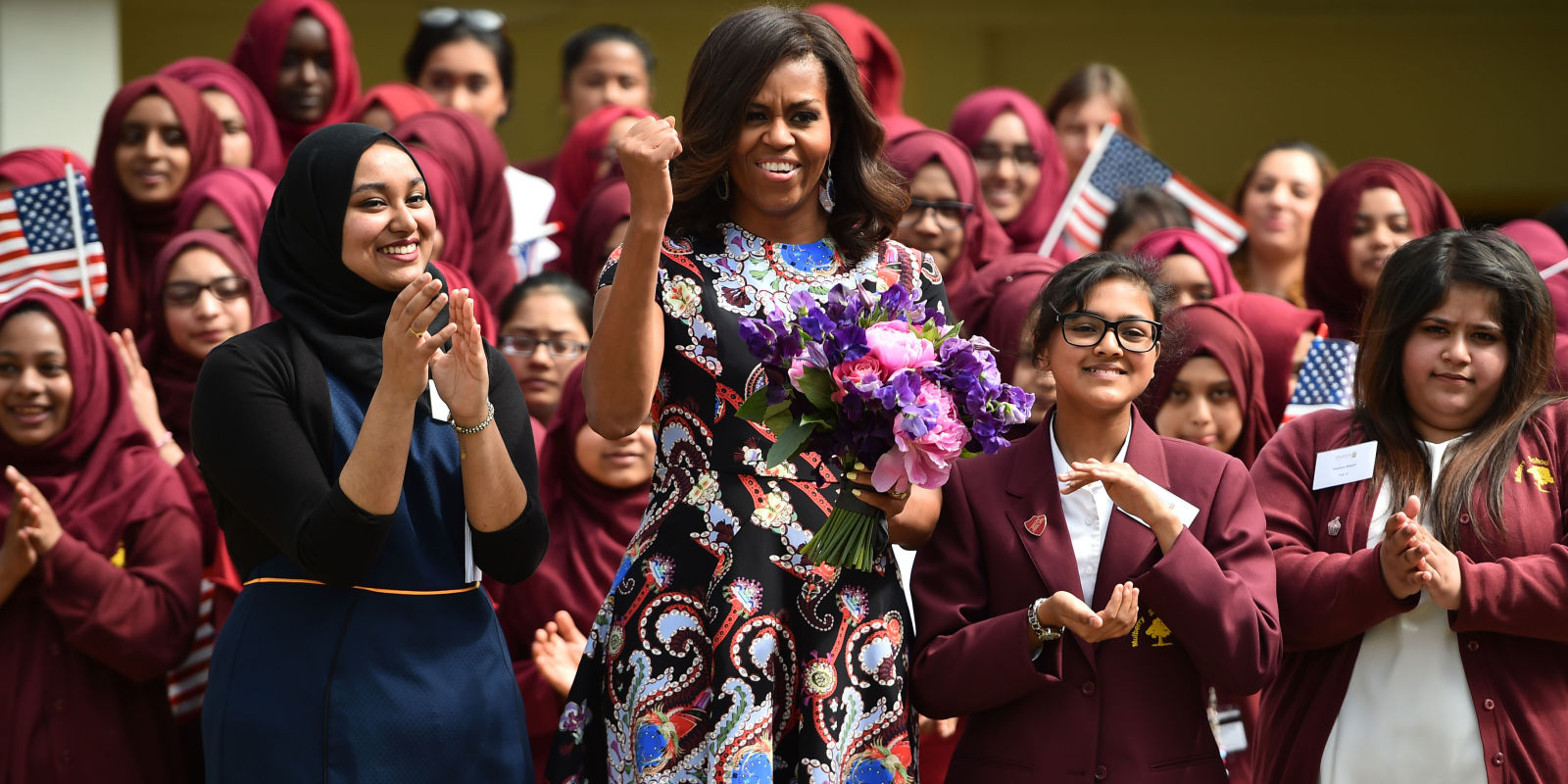 michelle obama on girls education this issue is personal for me