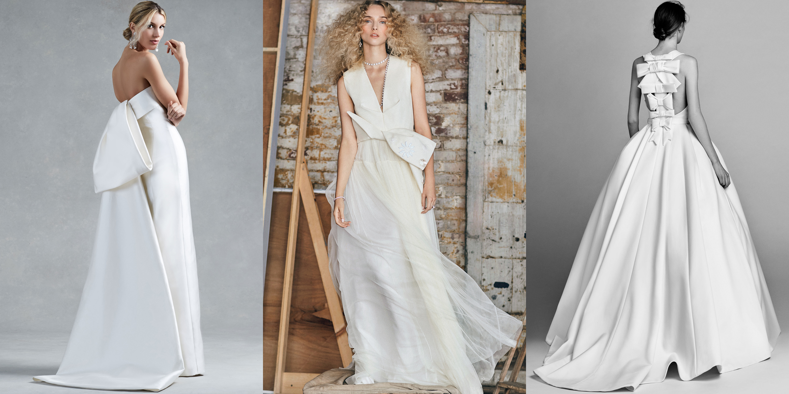 Wedding Dress Trends For Fall 2017 : Wedding trends for fall and winter runway