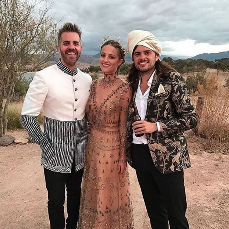 This Is The $20,500 Wedding Gown Dianna Agron Wore For Her Moroccan ...
