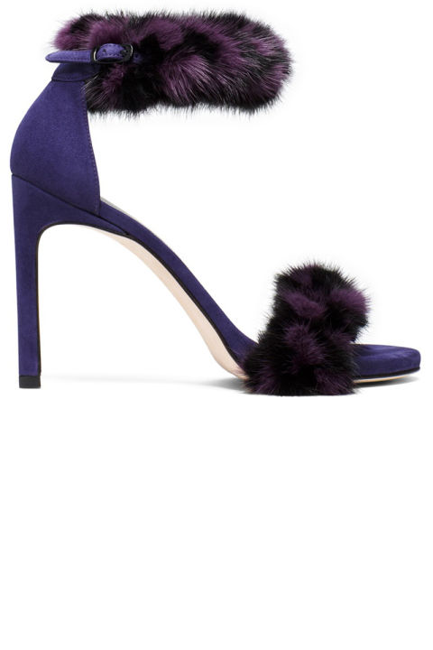 Stuart Weitzman sandals, $498, stuartweitzman.com.