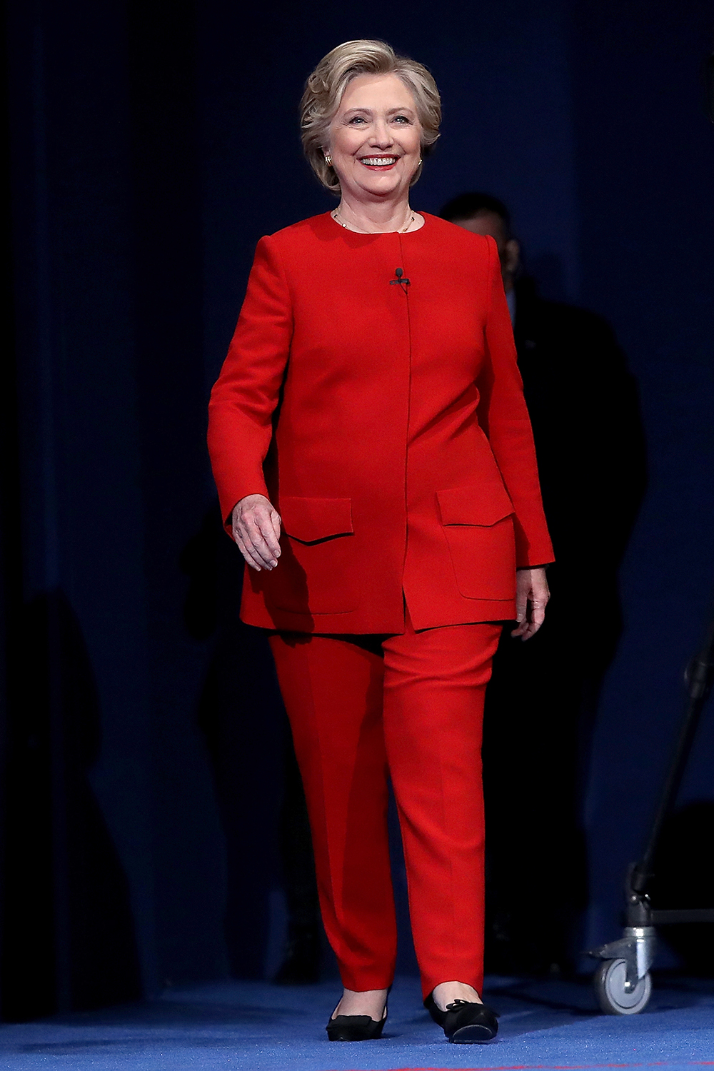 Hillary Clinton's Best Pantsuits - Clinton Rainbow Pant Suits Hillary Rodham Clinton