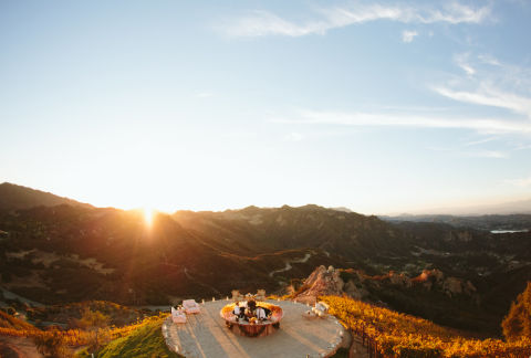 65 amazing wedding venues best places in the world to for Malibu rocky oaks estate vineyards wedding cost