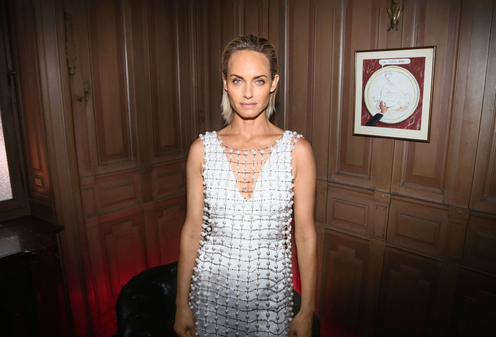 Shine even brighter than a diamond in the latest must-have accent: pearls. Choose a luminous, orb-encrusted dress like Amber Valletta's or go traditional with standout accessories.