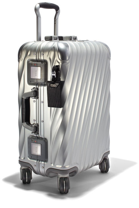 """One of my favorite things about Tumi luggage is that it gets more attractive with age—the character of my suitcase develops as my passport collects stamps,"" says E-Commerce Director, Katie Hobbs.Tumi luggage, $995, shopBAZAAR.com."