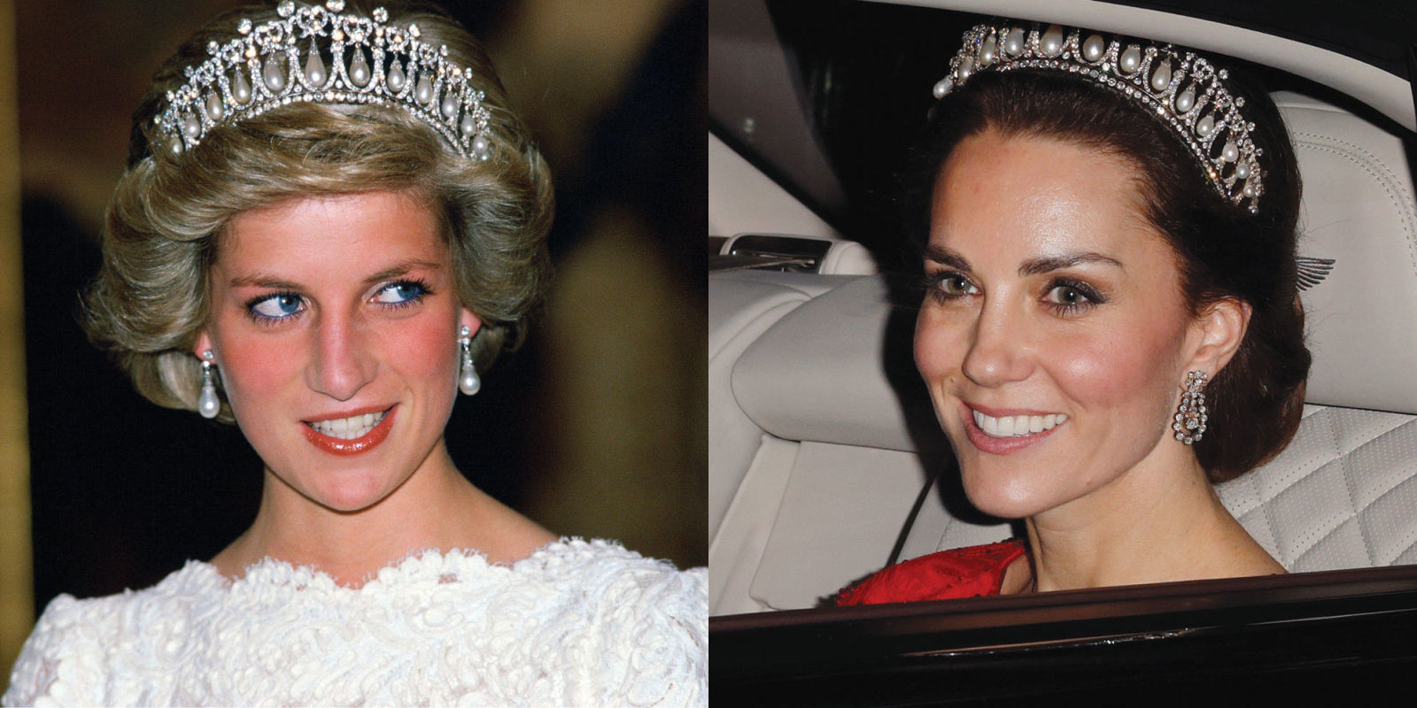 Zerchoo Fashion Kate Middleton Wears Princess Diana S Tiara