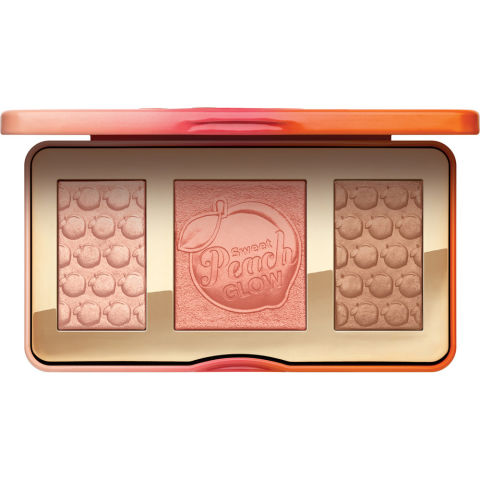 This new, coveted highlighter trio is even better once you know it's actually scented like peaches. You'll want to keep sweeping it on to get a whiff of the perfumey scent—so just be careful you don't over-glow yourself.Too Faced Sweet Peach Glow, $42, ulta.com