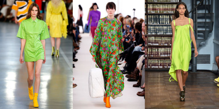 Greenery in fashion