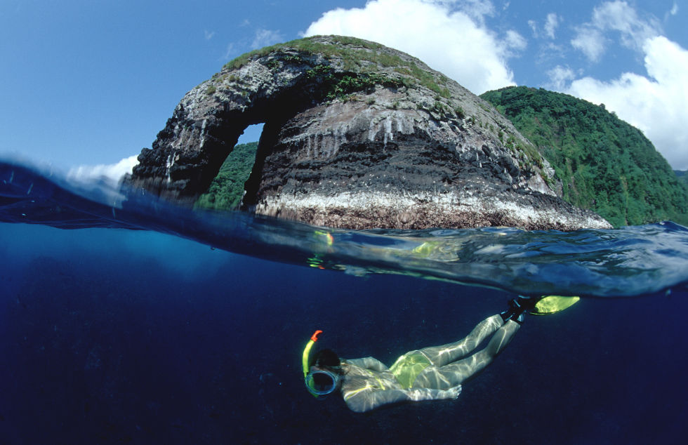 world heritage site cocos island