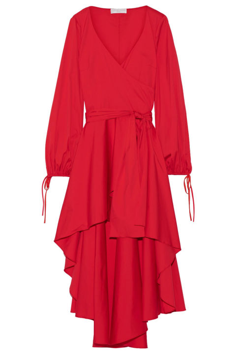 """""""I tend to buy a lot of separates, which can make life complicated, my goal is 2017 is to streamline and invest in a few great dresses that I'll want to wear over and over again.""""Caroline Constas dress, $695, net-a-porter.com."""