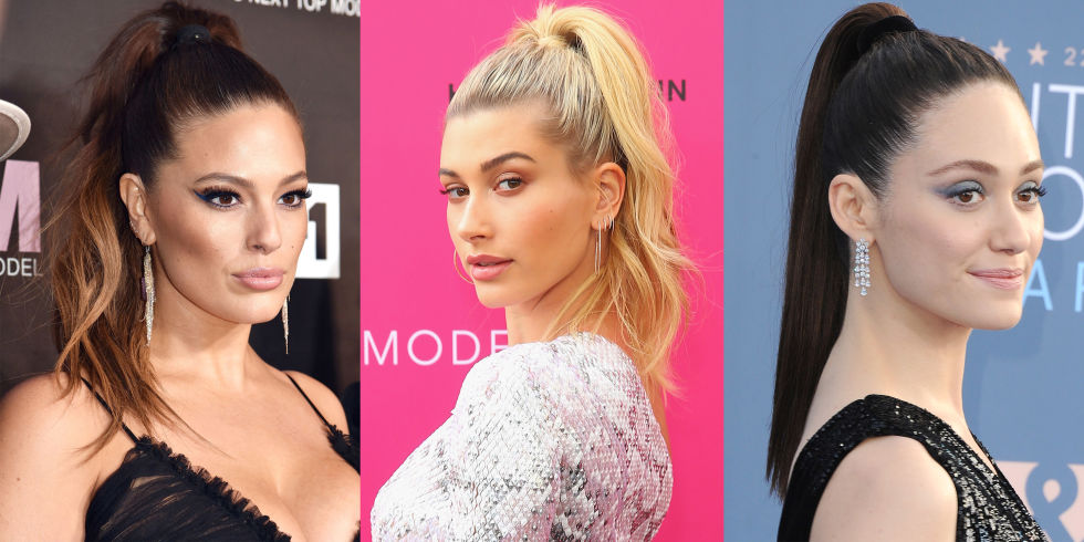 hbz hair trends 2017 high ponytail 8 HAIR TRENDS YOULL SEE EVERYWHERE IN 2017