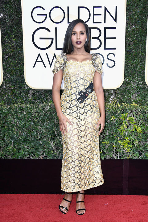 Kerry Washington in Dolce & Gabbana Moda Couture