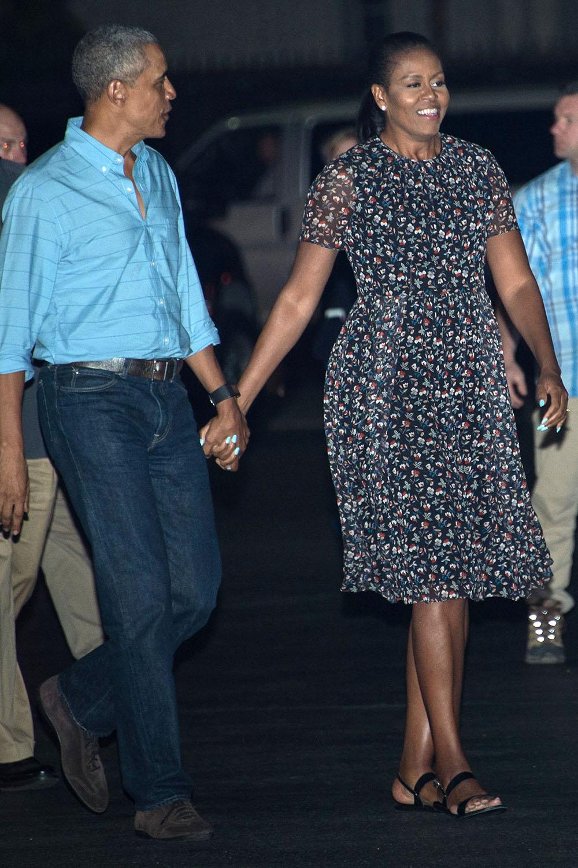 Michelle Obama Winter Fashion