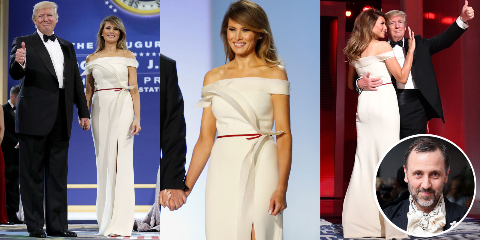 melania trump inauguration gown designer herve pierre speaks out melania trump inauguration gown designer herve pierre speaks out herve pierre interview