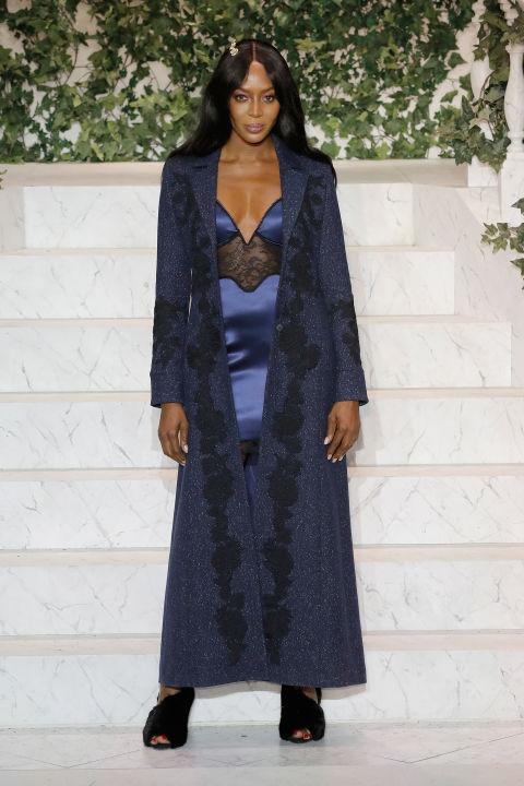 Naomi Campbell Walked The Runway At La Perla Fashion Show