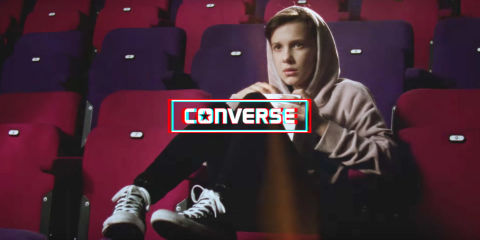 Millie Bobby Brown celebrates Converse in iconic Eighties movies with a new campaign