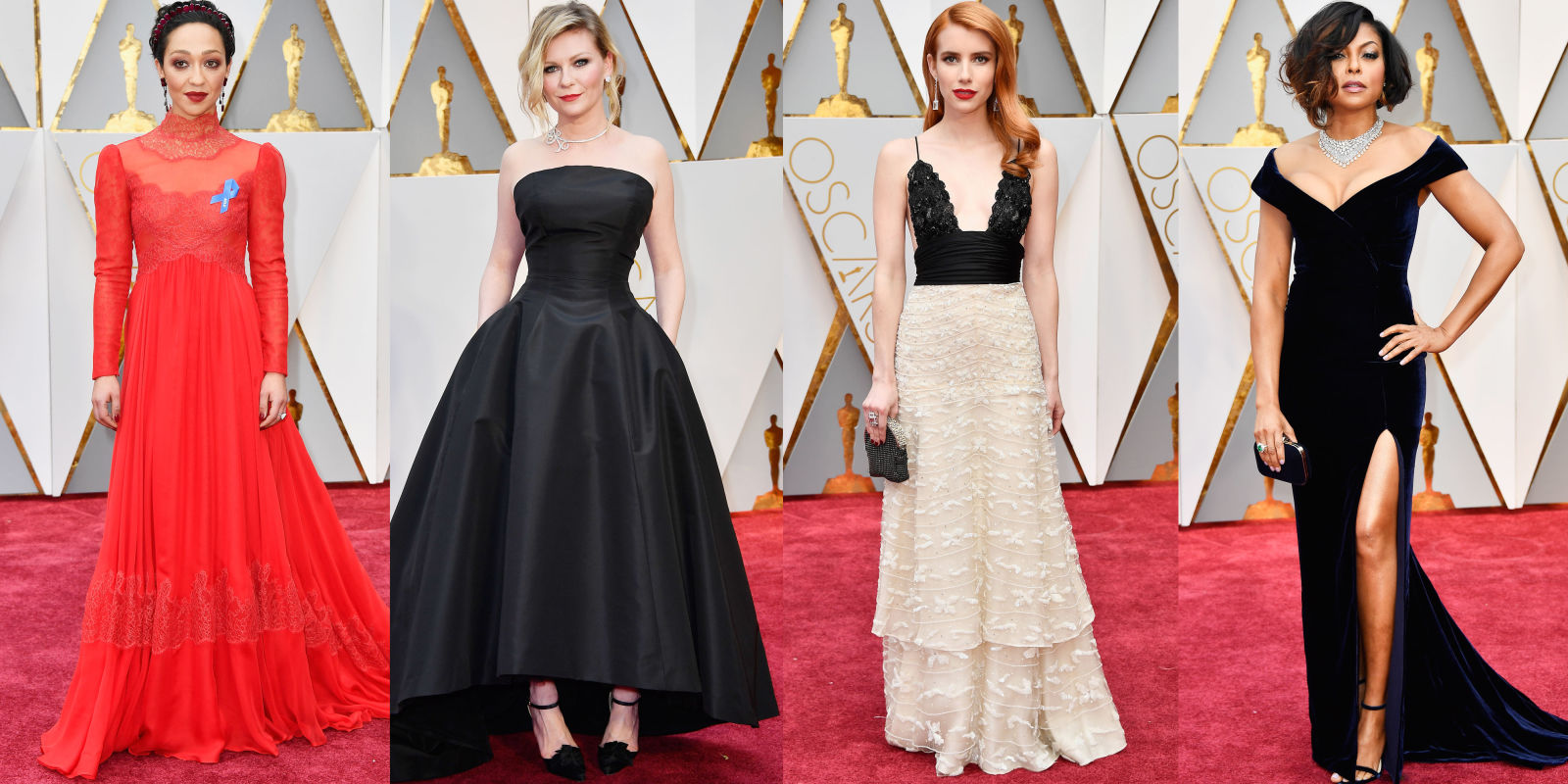 Best dresses from the oscars red carpet 2017 academy awards red carpet fashion - Red carpet oscar dresses ...