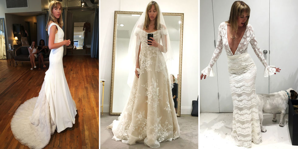 Finding Your Dream Wedding Dress - I Tried on 80 Bridal Gowns to ...