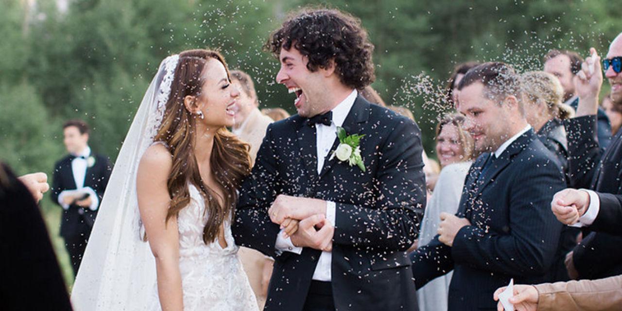 Aimee Carrero & Tim Rock's Majestic Mountain Wedding in Aspen