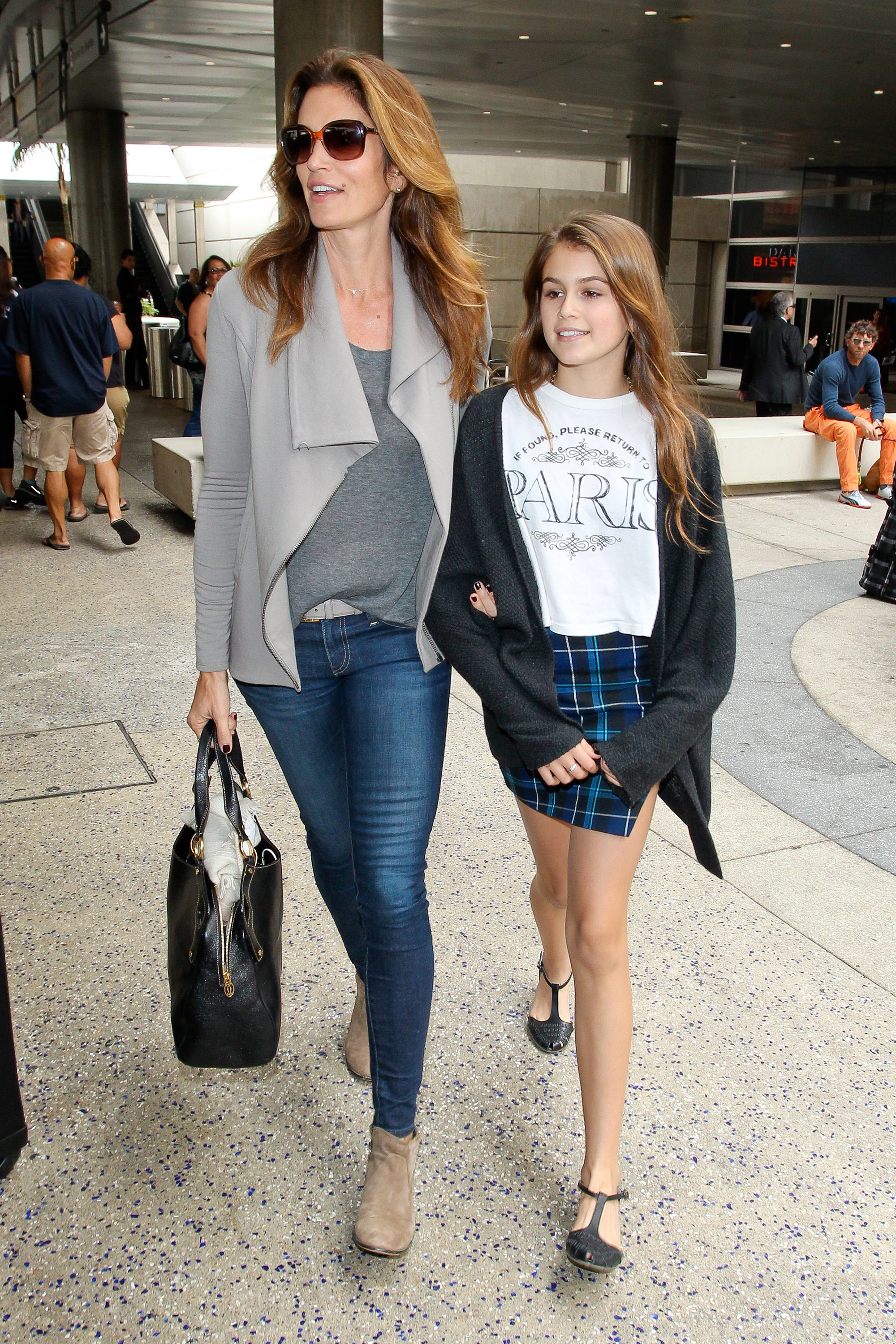 Cindy Crawford And Kaia Gerber S Best Mother Daughter