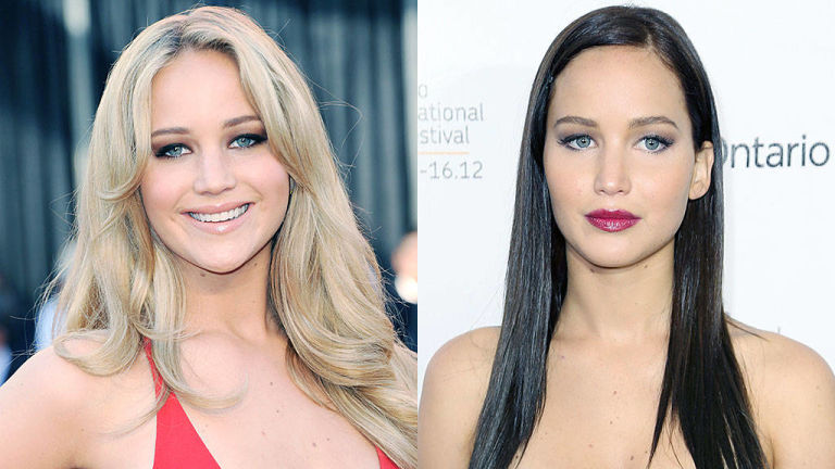 Awesome Blonde Vs Brunette Celebrities Vote For Blonde Or Brown Hairstyle Inspiration Daily Dogsangcom