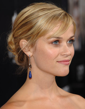 Incredible Easy Hairstyles For The Holidays Party Hair Reese Witherspoon39S Hair Hairstyles For Men Maxibearus