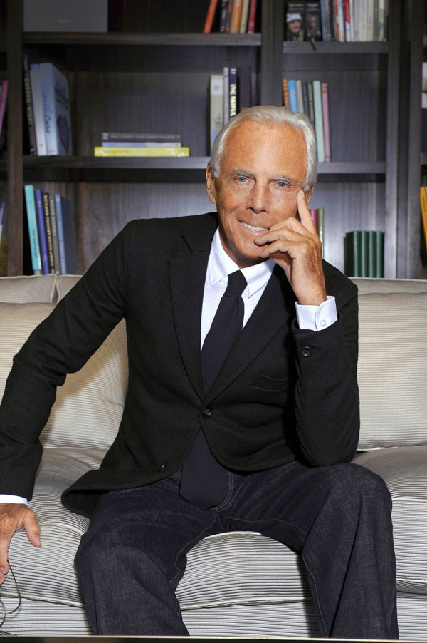 Giorgio Armani in 24 Hours - A Day in the Life of Giorgio ... Giorgio Armani