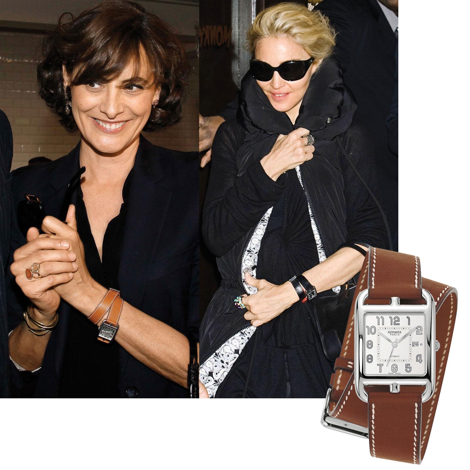 RDuJour » Hermès Cape Cod Wrap Watch