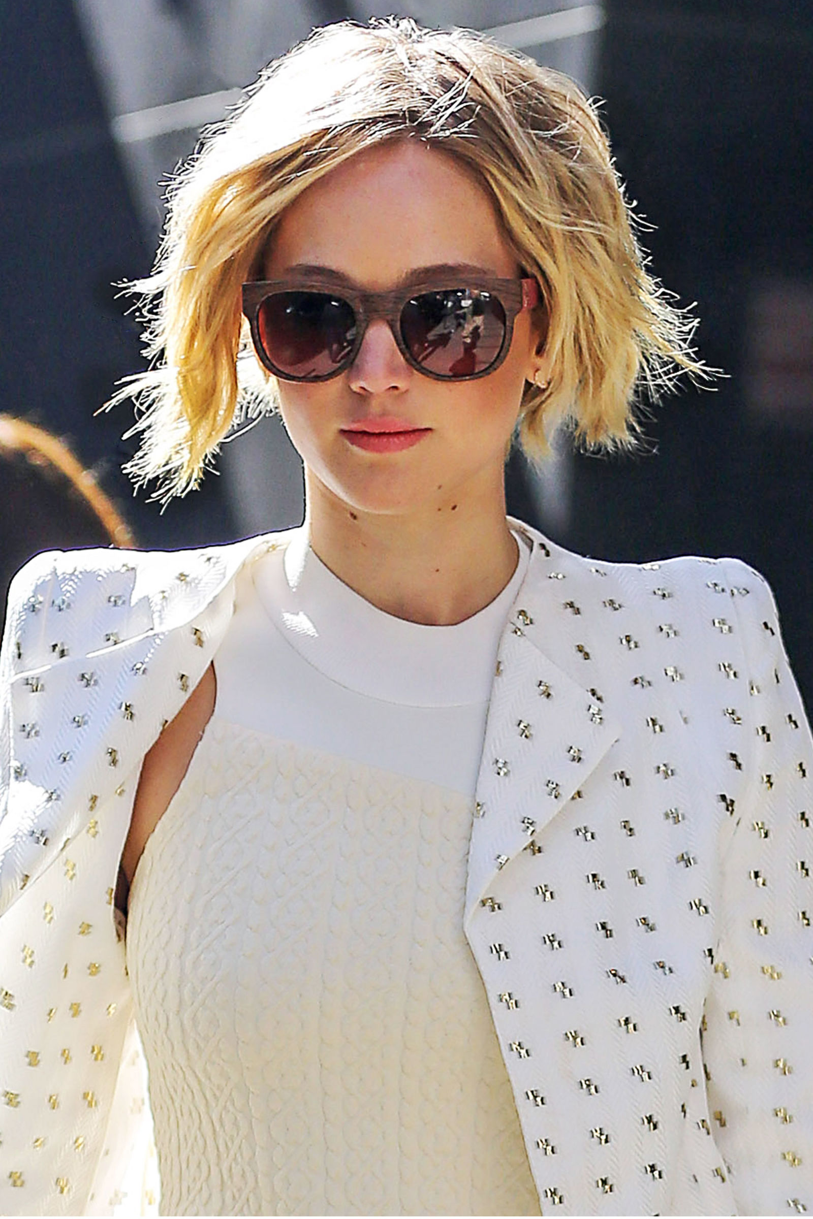 jennifer lawrences grown out pixie cut how to get