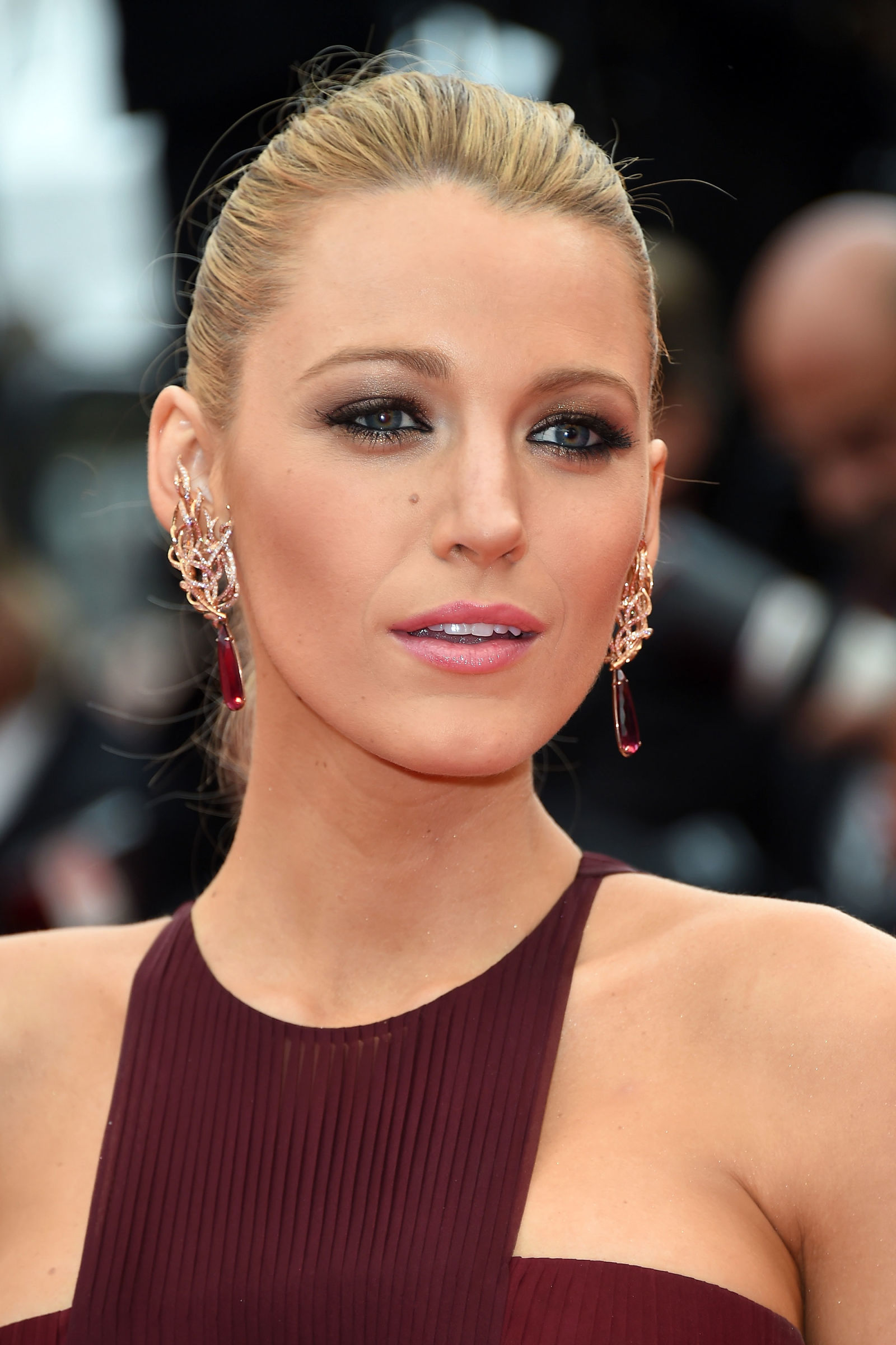 Blake Lively Cannes Makeup Grace Of