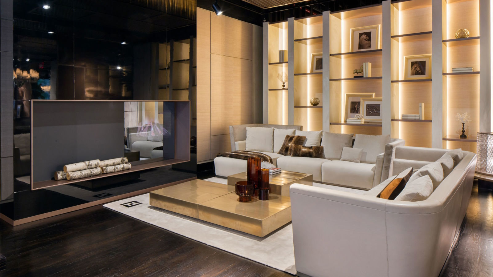 Luxury living opens new york showroom luxury living and for Casa interior