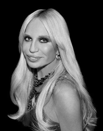 Donatella Versace Historia