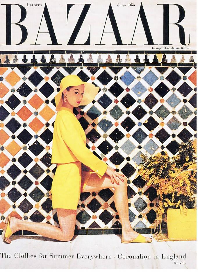 Harper's Barzaar - Magazine cover