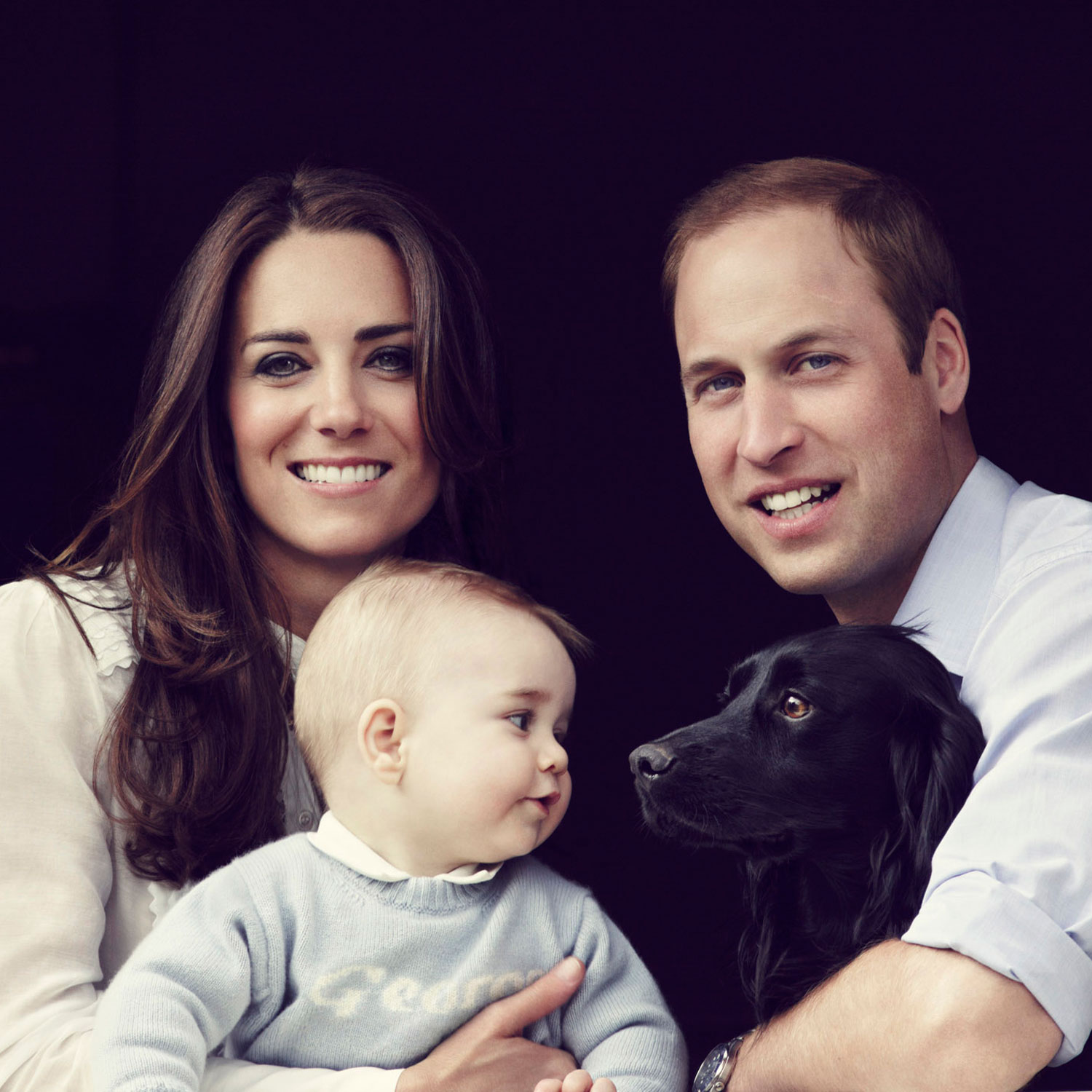 Prince William And Kate Middleton Release New Family