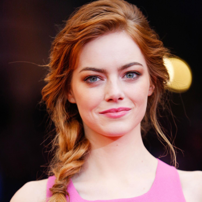 How to Get Emma Stone's Textured Braid - Emma Stone Met