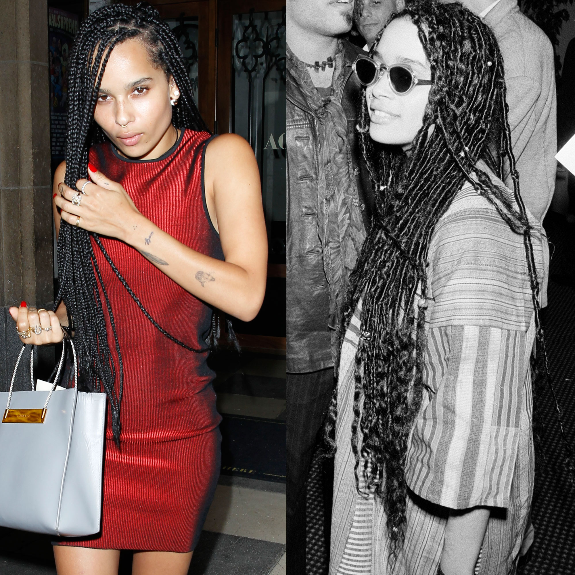 Zoë Kravitz References Lisa Bonet