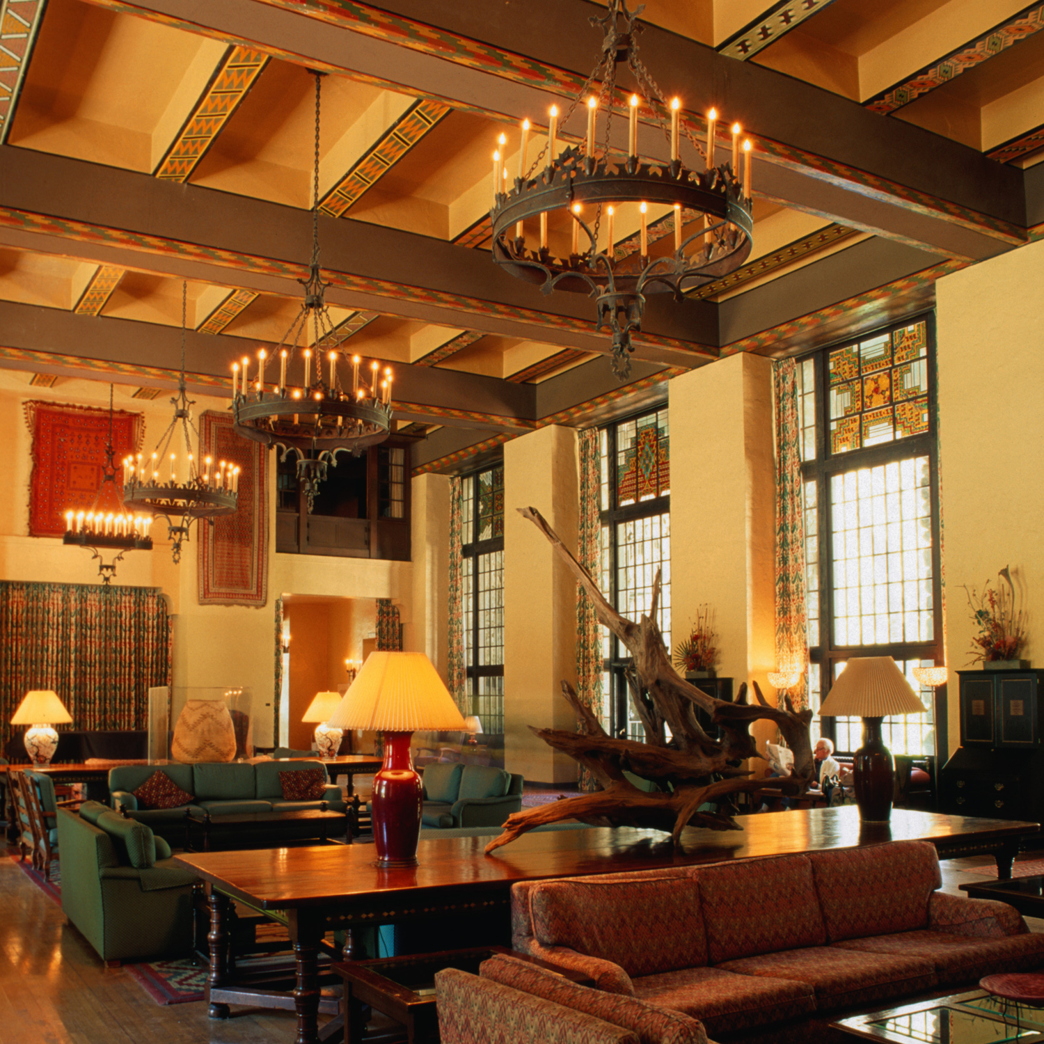 The Majestic Yosemite Hotel offers a gift shop with a focus on local artisans, a decadent sweet shop, a comfortable bar and a heated outdoor swimming pool. The Majestic Yosemite Hotel Dining Room serves breakfast, lunch, dinner and Sunday brunch.