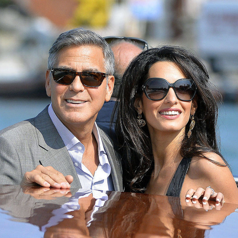 George Clooney Marries Amal Alamuddin In Venice