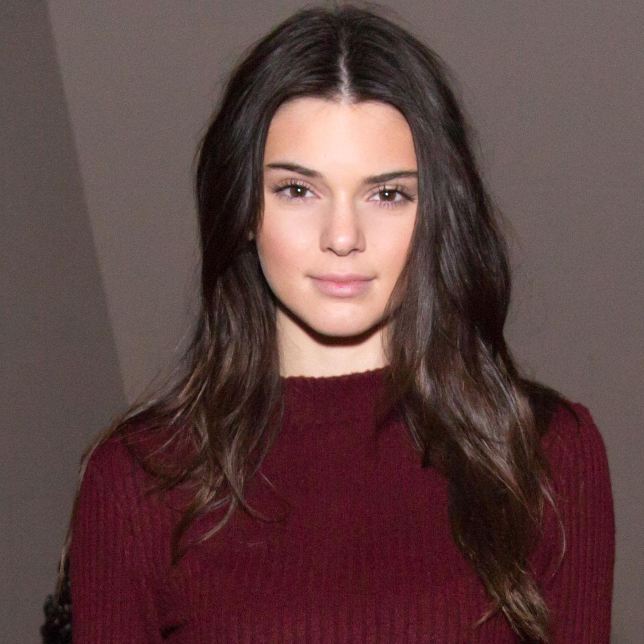 kim kardashian straight hairstyles : ... Kendall Jenner Haircut - Justin Bieber Video of Kendall Jenner Haircut