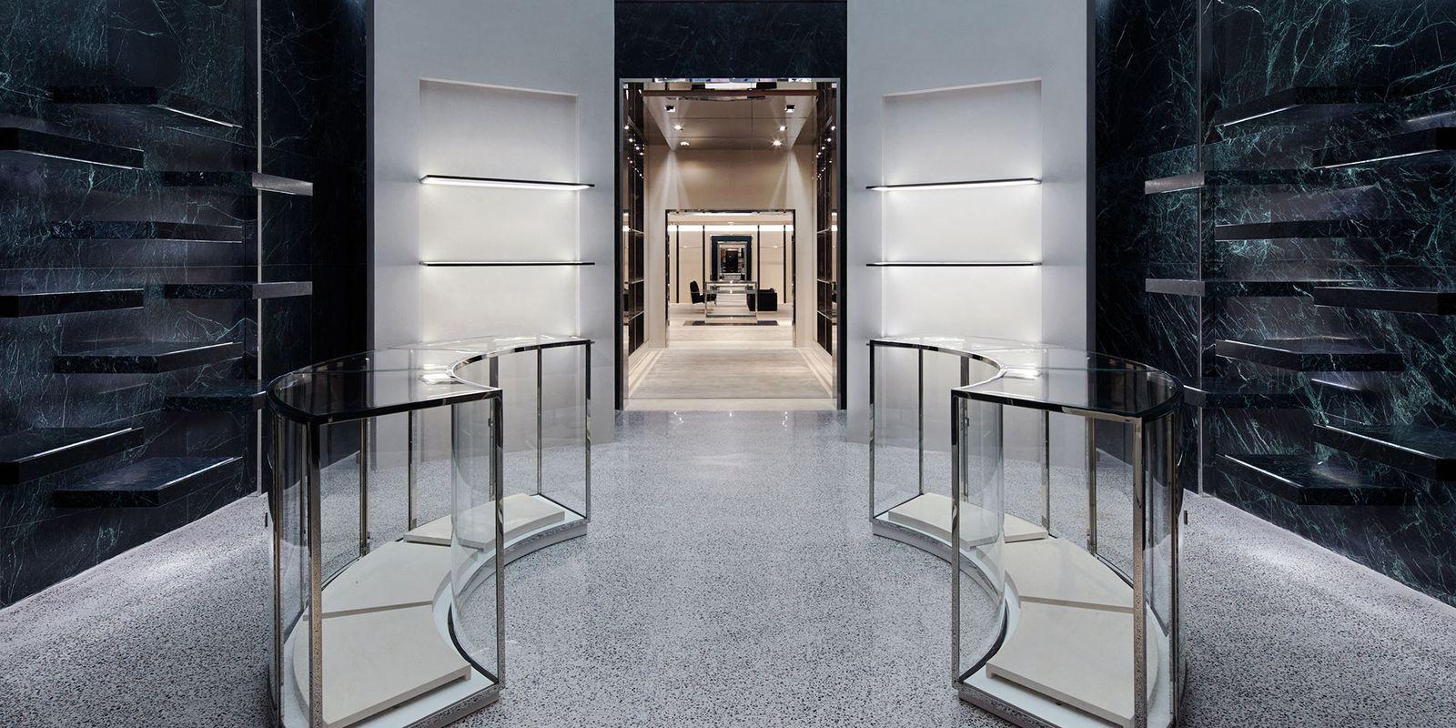 Balenciaga store opening balenciaga new york store for Balenciaga store in soho