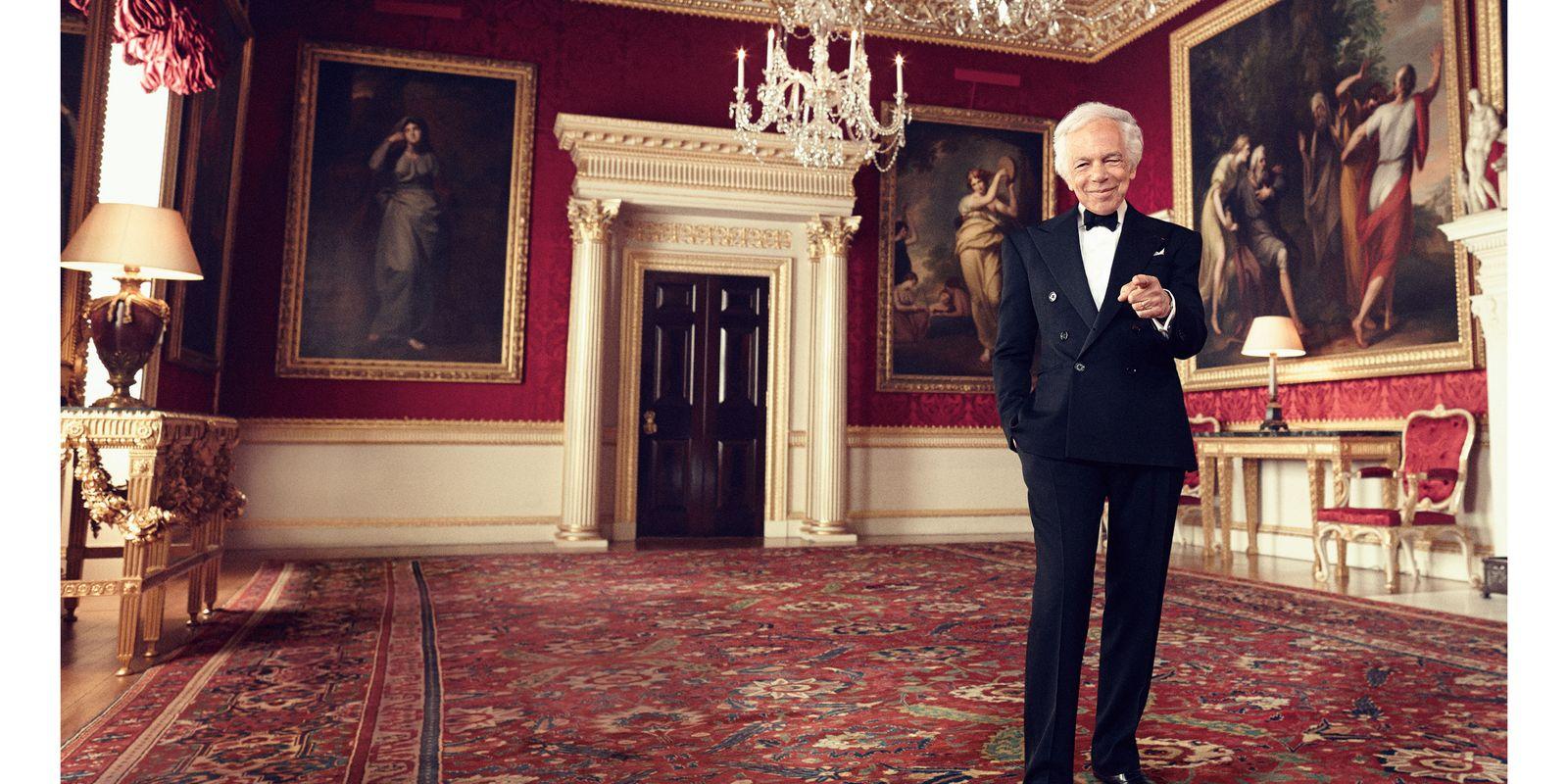 Ralph Lauren Dines with Prince William at Windsor Castle \\u2013 Ralph Lauren Breast Cancer Center