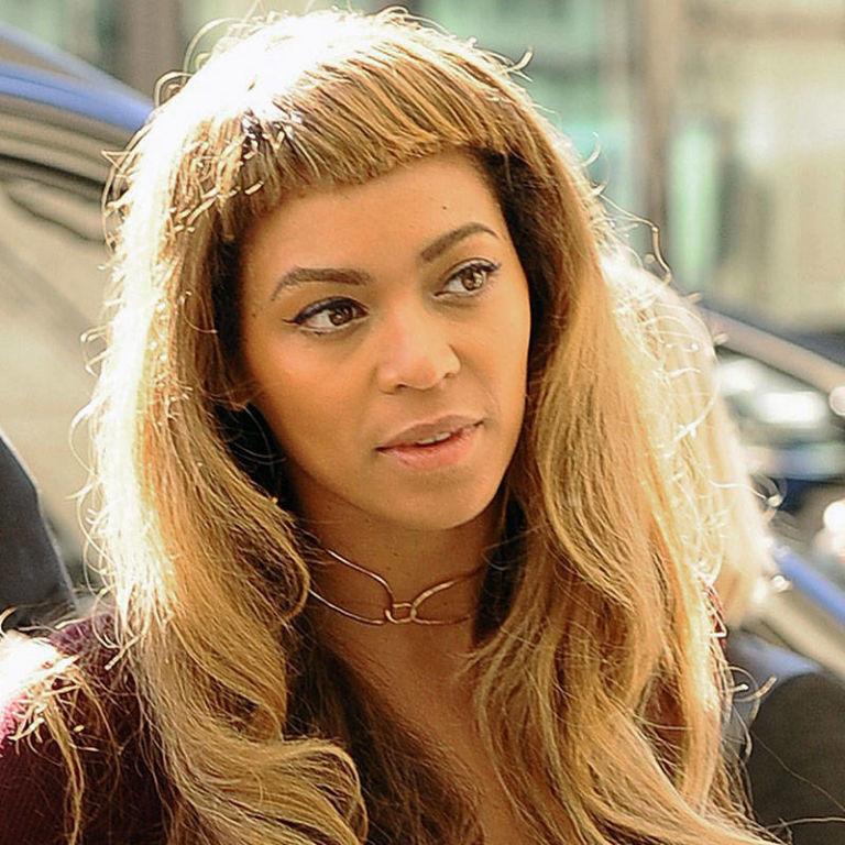 Super Beyonce39S Short New Bangs Beyonce39S New Haircut Short Hairstyles For Black Women Fulllsitofus