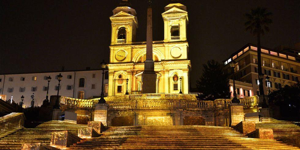 Bulgari Helps Restore The Spanish Steps