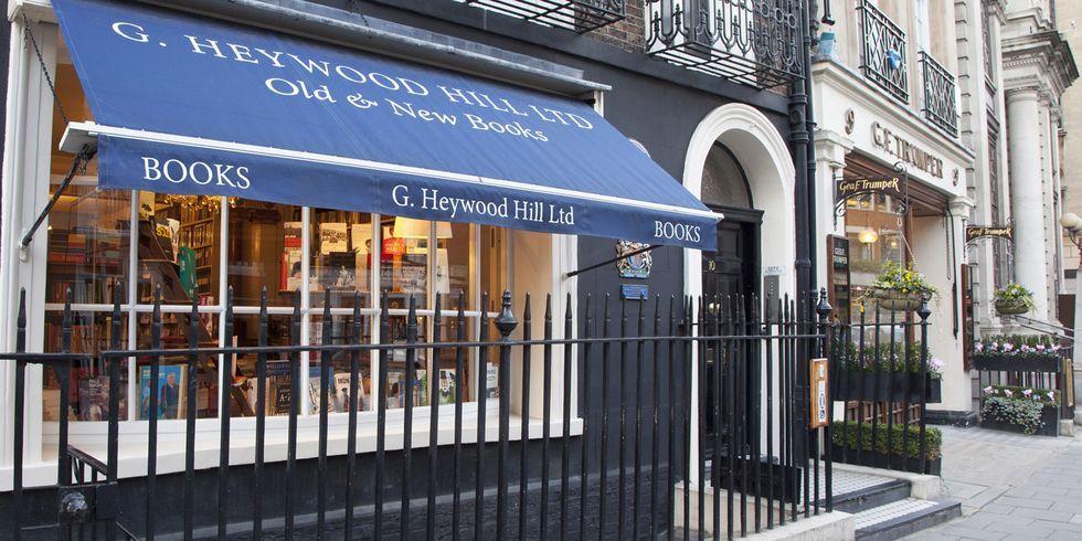 Heywood Hill Interview : Heywood Hill Bookshop in London