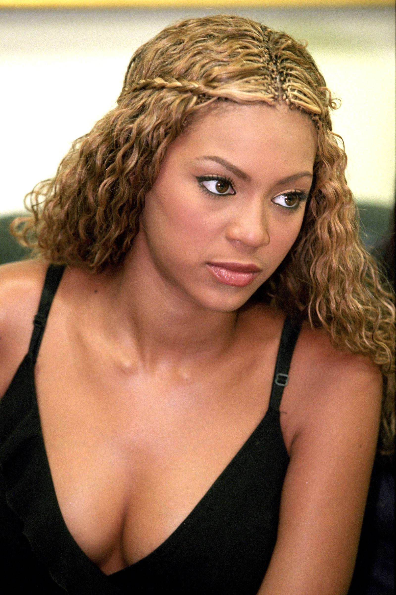 Beyonce real hair