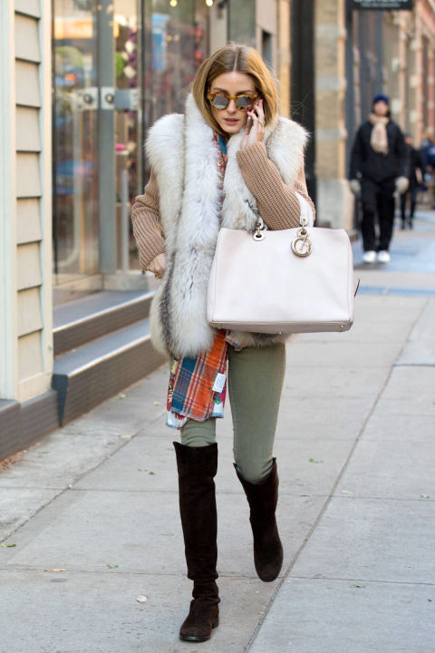 The Takeaway: A fur vest is a legitimate outdoor option when layered correctly.