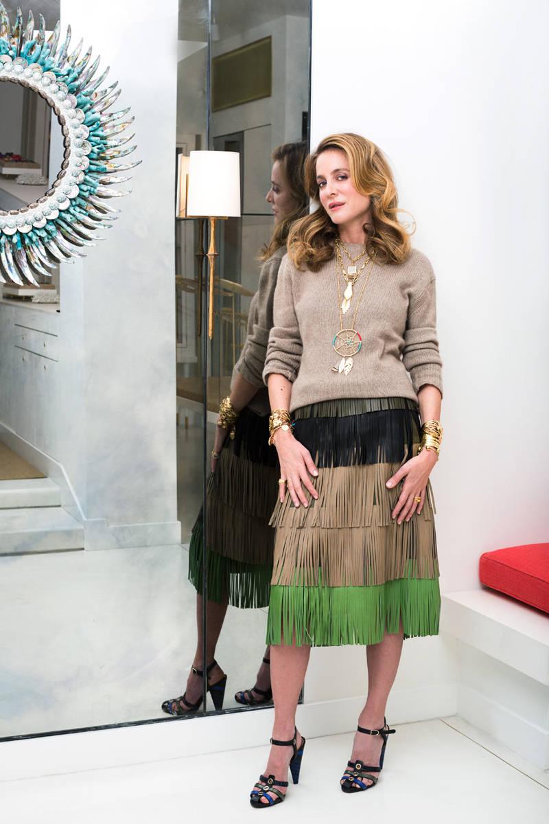 My Life in 3 Looks: Aurélie Bidermann - Aurélie Bidermann ...: http://www.harpersbazaar.com/fashion/trends/g4892/aurelie-bidermann-life-in-three-looks/