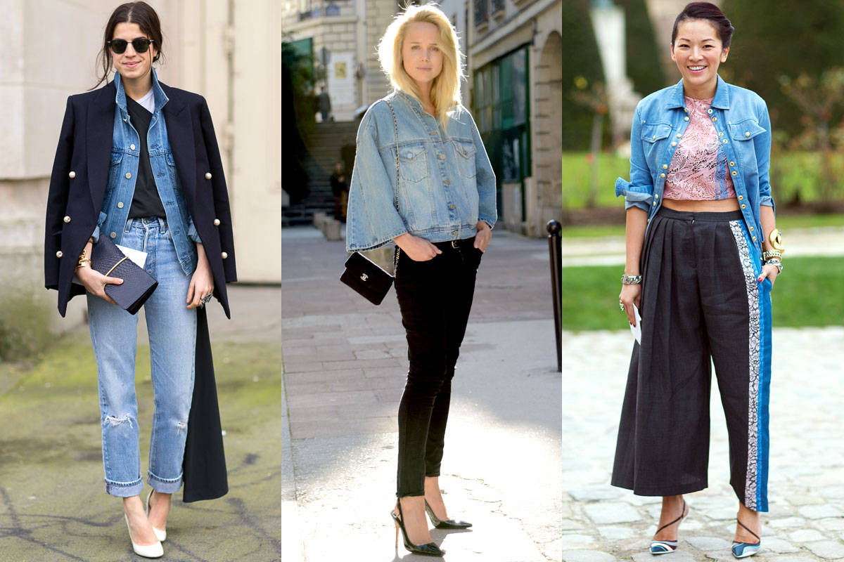theLIST: Denim Jacket Style Inspiration - Celebrity Denim Jackets