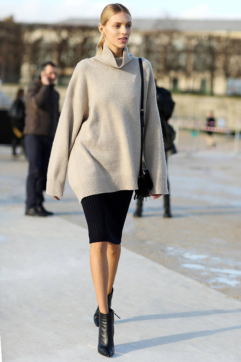How to Winterize Your Pencil Skirt-Ways to Wear a Pencil Skirt in ...
