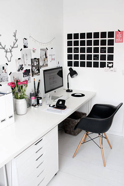 planning in style chic home office